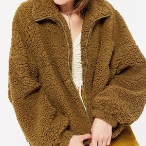 Urban Outfitters Willow Teddy Jacket